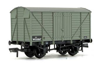 GWR 12T Ventilated Van BR Grey (Early)