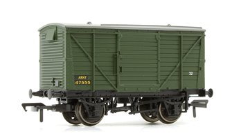 12 Ton Ventilated Van ARMY Green