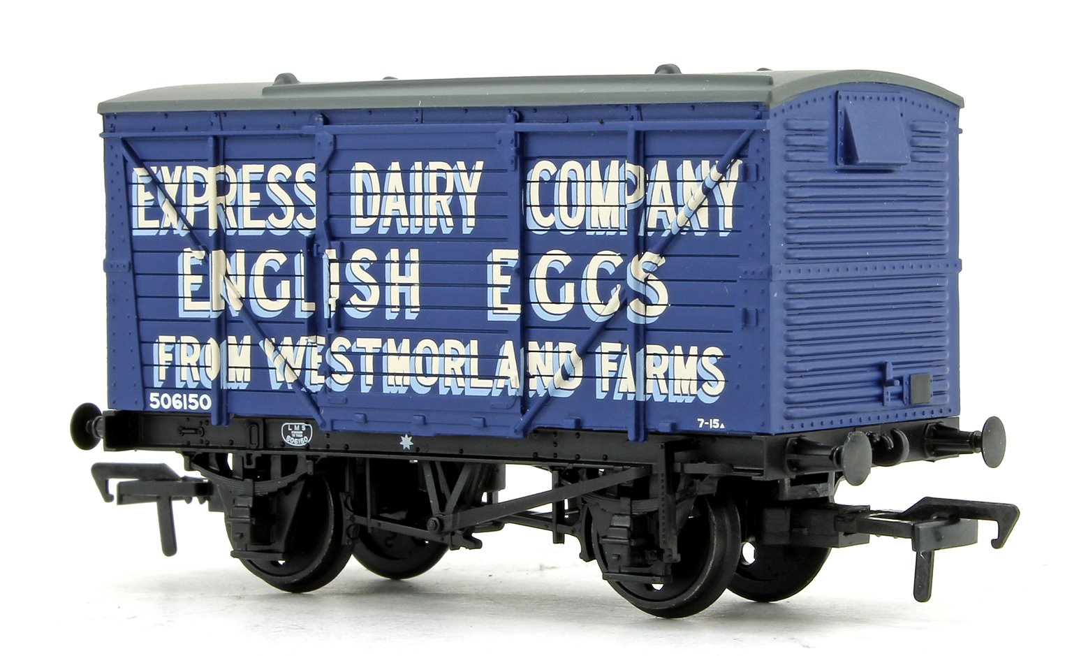LMS 12 Ton Planked Ventilated Van 'Express Dairy Company'