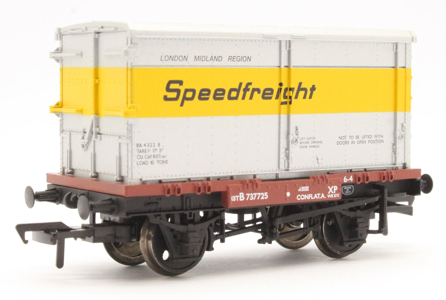 Conflat with BA Standard Container 'Speedfreight'