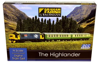The Highlander Digital Train Set