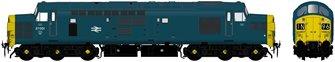 Class 37/0 37001 BR Blue Diesel Locomotive
