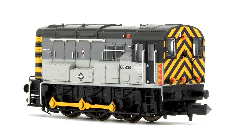 Class 08 08834 BR Railfreight Distribution Diesel Shunter