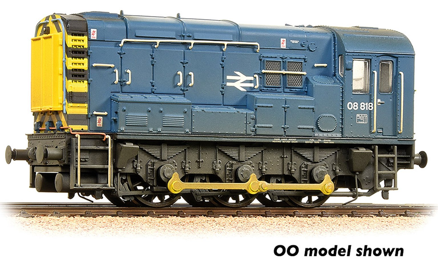 Class 08 08818 BR Blue Weathered