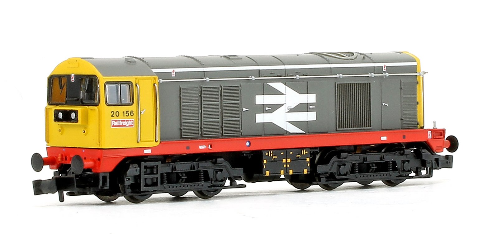 Class 20 156 BR Railfreight Red Stripe Diesel Locomotive
