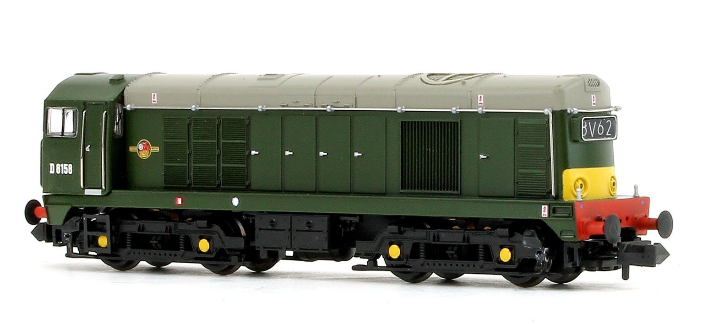 Class 20 D8158 BR Green(Small Yellow Panel) Diesel Locomotive