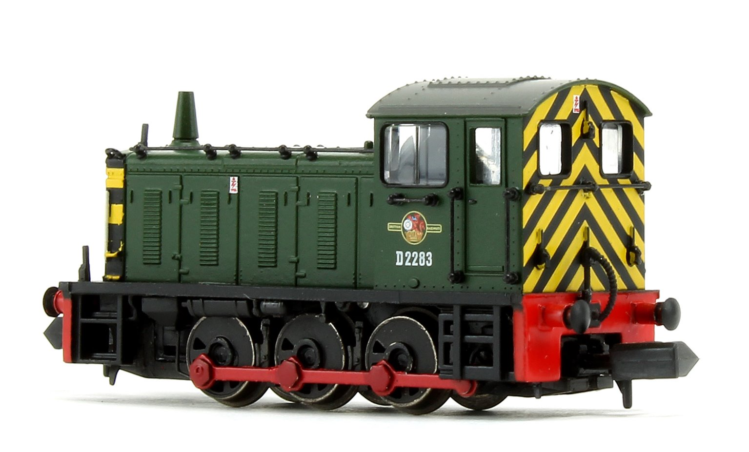 Class 04 D2283 BR Green Warning Stripes Diesel Shunter