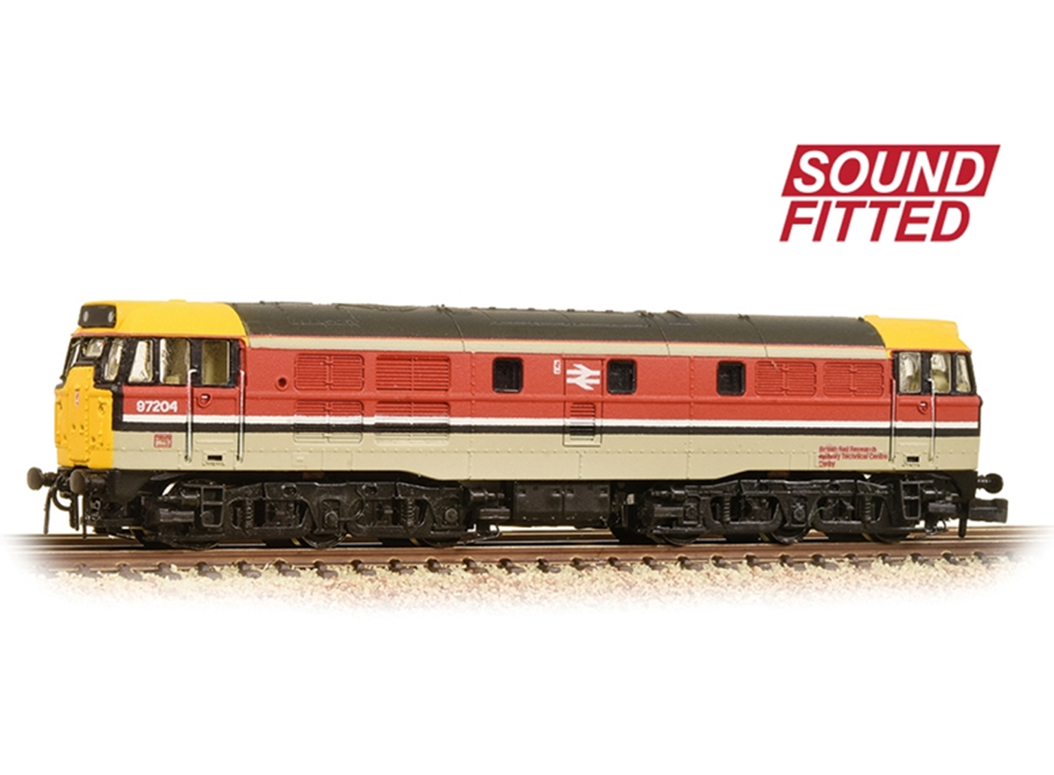 Class 31/1 97204 BR RTC (Revised) Diesel Locomotive DCC Sound