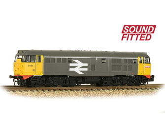 Class 31/1 Refurbished 31154 BR Railfreight Diesel Locomotive DCC Sound