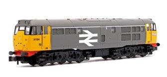 Class 31/1 (Refurbished) 31154 BR Original Railfreight Locomotive