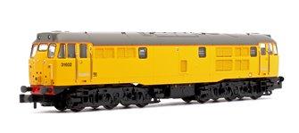 Class 31/6 (Refurbished) 31602 Network Rail Locomotive