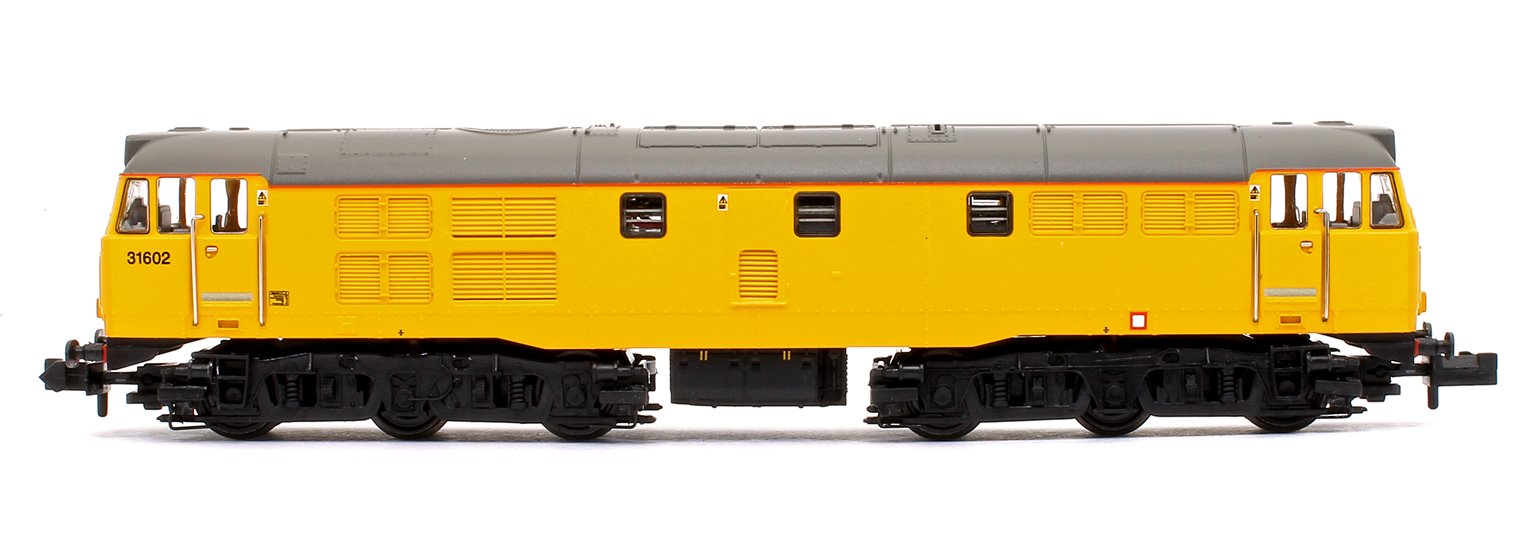 Class 31/6 Refurbished 31602 Network Rail Yellow Diesel Locomotive DCC Sound