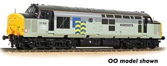 Class 37/4 Refurbished 37428 'David Lloyd George' BR Railfreight Petroleum Sector