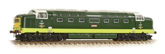 Class 55 No. D9009 Alycidon - BR Two-Tone Green Small Yellow Panel