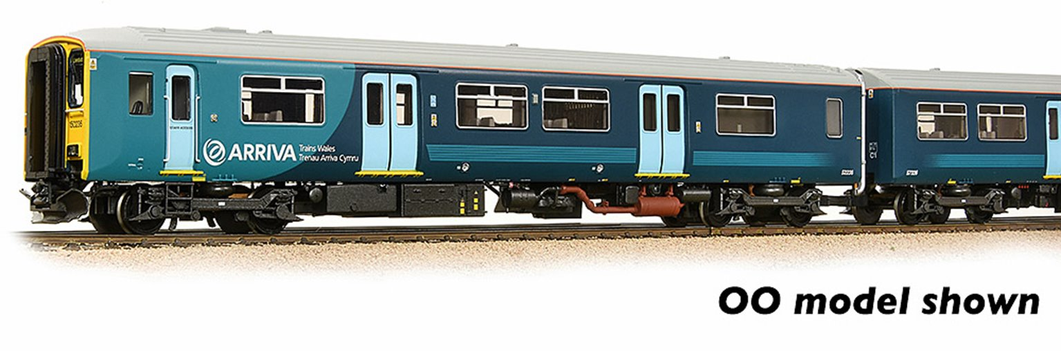 Class 150/2 2-Car DMU 150236 Arriva Trains Wales (Revised) DCC Sound