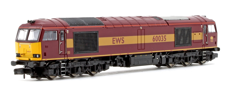 Class 60 035 EWS Livery Diesel Locomotive