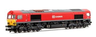 Class 66 101 DB Schenker Diesel Locomotive
