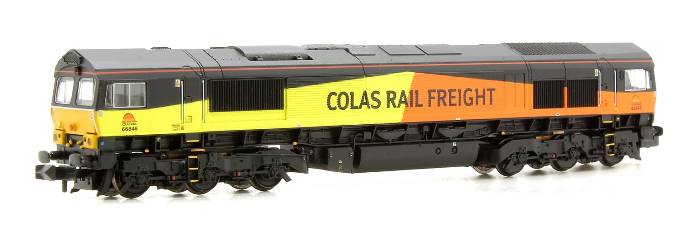 Class 66/8 66846 Colas Rail Diesel Locomotive