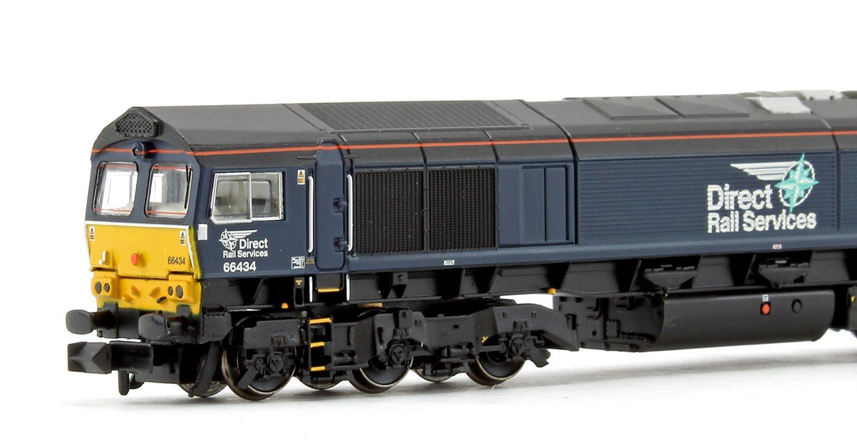 Class 66 434 DRS Plain Blue Compass Diesel Locomotive