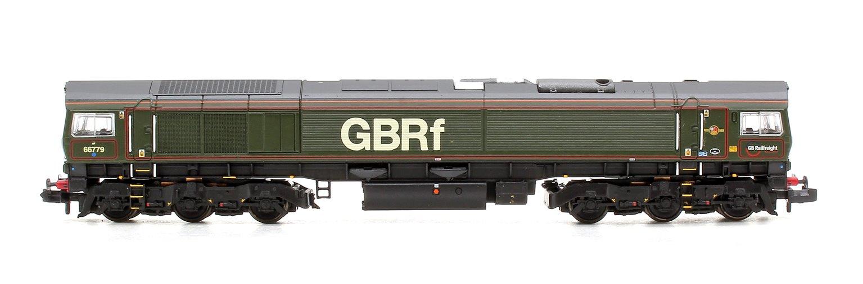 "Class 66/7 66779 ""Evening Star"" BR Green with GBRF Branding Locomotive"