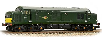 Class 37/0 Centre Headcode D6984 BR Green (Small Yellow Panels)