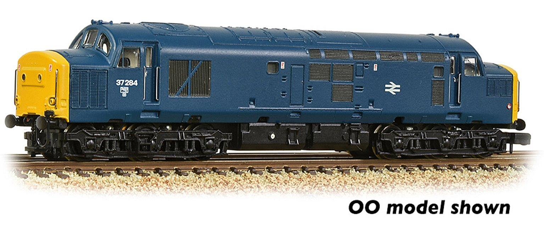 Class 37/0 Centre Headcode 37284 BR Blue