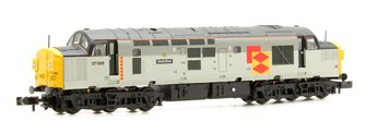 Class 37/0 37068 'Grainflow' BR Railfreight Distribution Split Headcode Locomotive