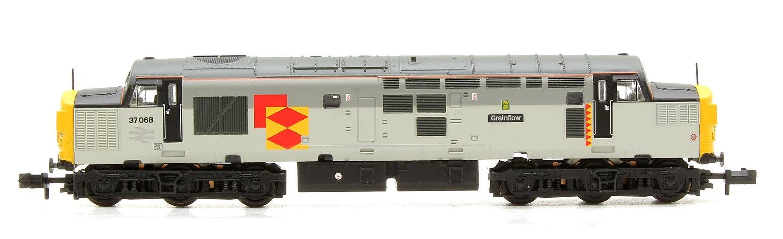 Class 37/0 37068 'Grainflow' BR Railfreight Distribution Split Headcode Locomotive