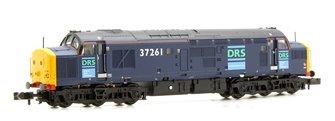 Class 37/0 37261 DRS Blue Diesel Locomotive