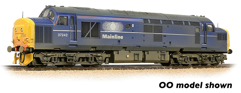 Class 37/0 Centre Headcode 37242 Mainline Freight Weathered