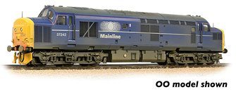 Class 37/0 Centre Headcode 37242 Mainline Freight Weathered