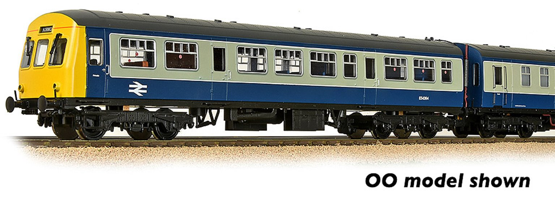 Class 101 2-Car DMU BR Blue & Grey DCC Sound