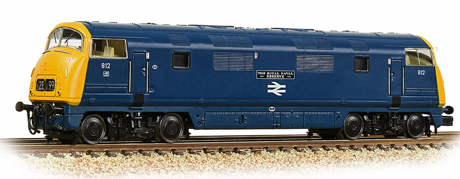 Class 42 'Warship' 812 'The Royal Naval Reserve 1859-1959' BR Blue