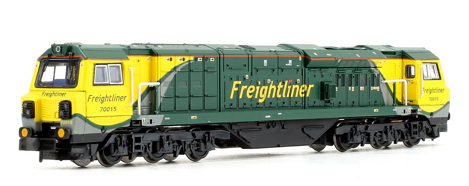 Class 70015 Freightliner (Air Intake Modifications) Diesel Locomotive