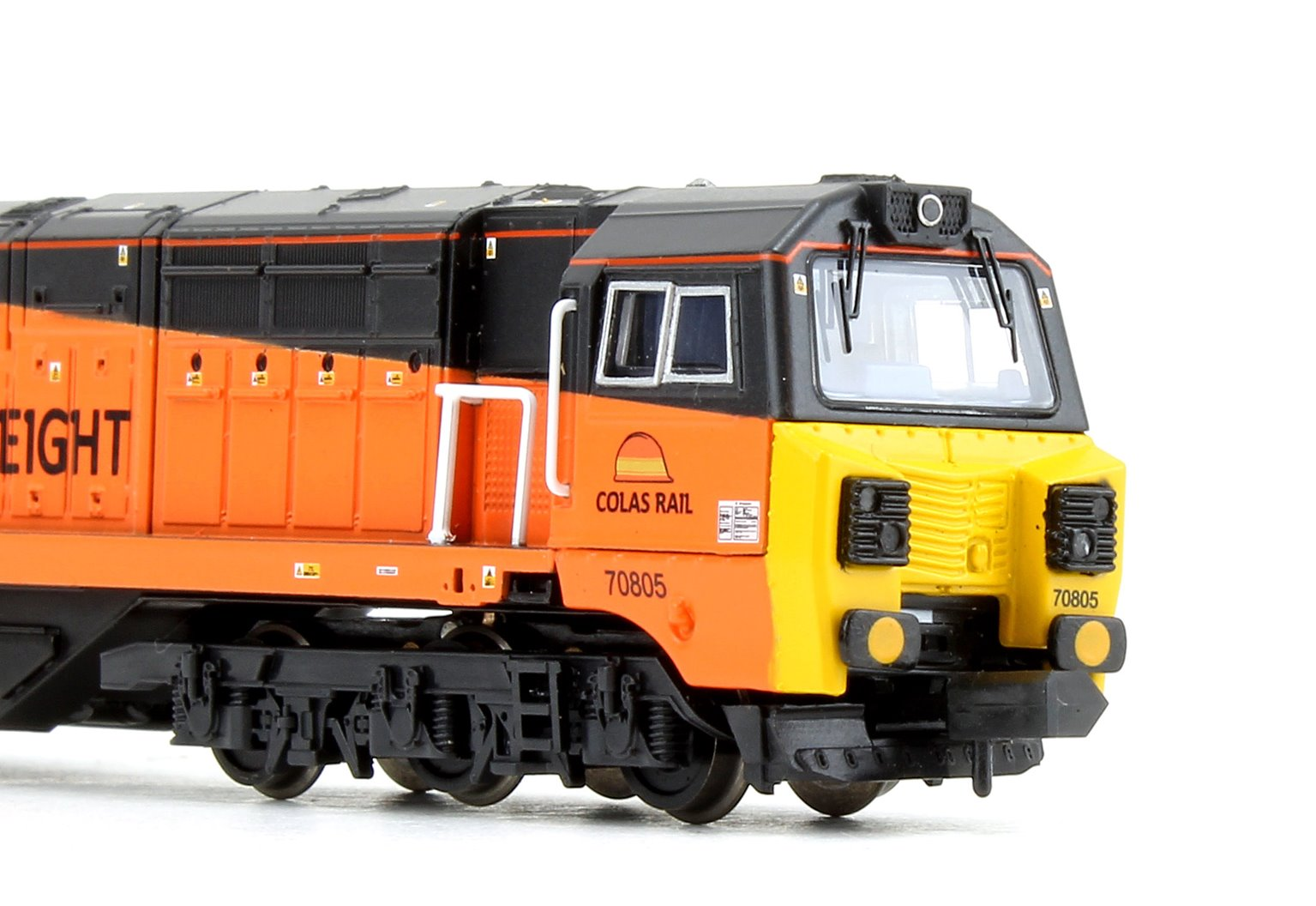 Class 70805 Colas Railfreight (Air Intake Modifications) Diesel Locomotive