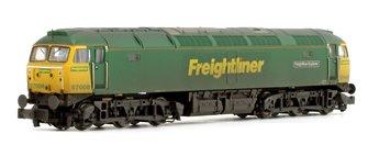 Class 57 008 'Freightliner Explorer' Freightliner Diesel Locomotive (Weathered Edition)