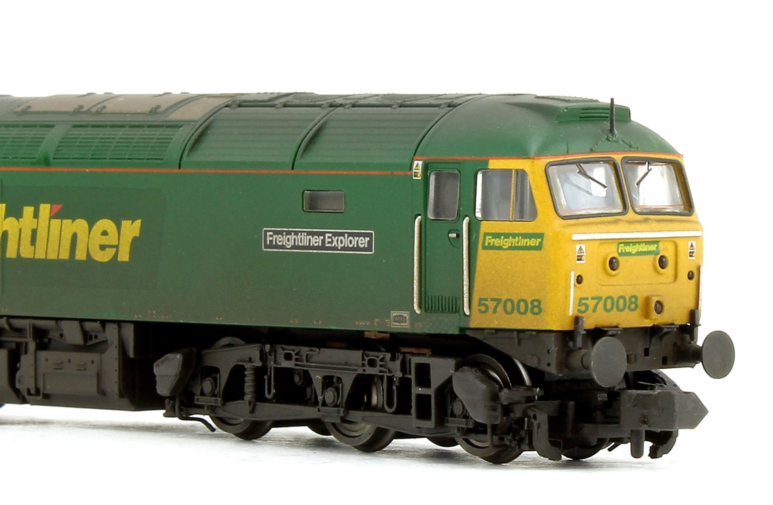 Class 57 008 'Freightliner Explorer' Freightliner Diesel Locomotive (Weathered Edition)