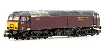 Class 57/3 57313 West Coast Railways Locomotive