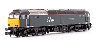 Class 57/6 57603 'Tintagel Castle' GWR Diesel Locomotive