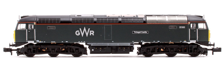 Class 57/6 57603 'Tintagel Castle' GWR Diesel Locomotive