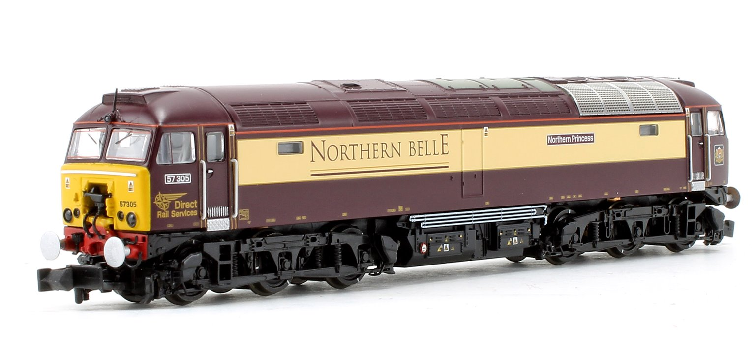Class 57/3 57305 'Northern Princess' DRS Northern Belle Diesel Locomotive