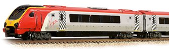 Class 220 4-Car DEMU 220018 'Dorset Voyager' Virgin Trains (Revised)