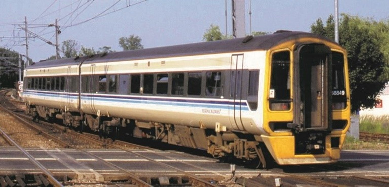Class 158 2-Car DMU 158849 BR Regional Railways (Price is estimated - we will notify you if price rises and offer option to cancel)