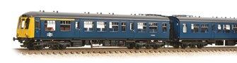 Class 108 3 Car DMU BR Blue