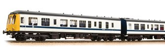 Class 108 3 Car DMU BR White & Blue