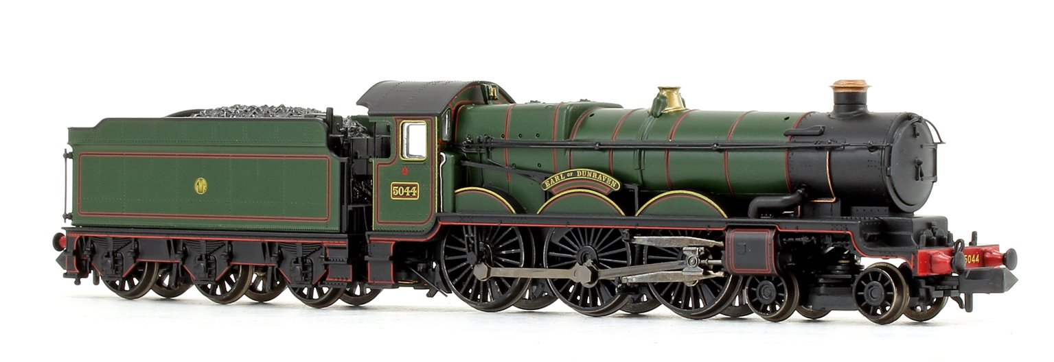'Earl of Dunraven' GWR Lined Green Castle Class 4-6-0 Locomotive No.5044