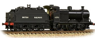 MR 3835 4F with Fowler Tender 43892 BR Black (British Railways)