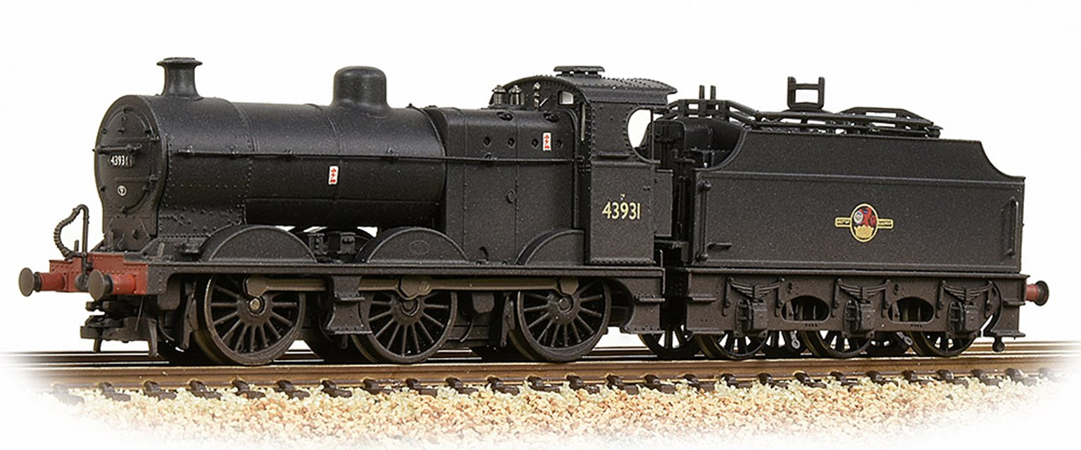 MR 3835 4F with Fowler Tender 43931 BR Black (Late Crest) Weathered