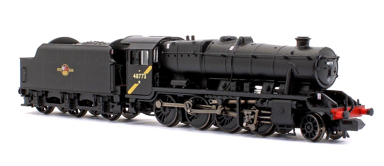 LMS Stanier Class 8F BR Black (Late Crest) 2-8-0 Steam Locomotive No. 48773 DCC Sound