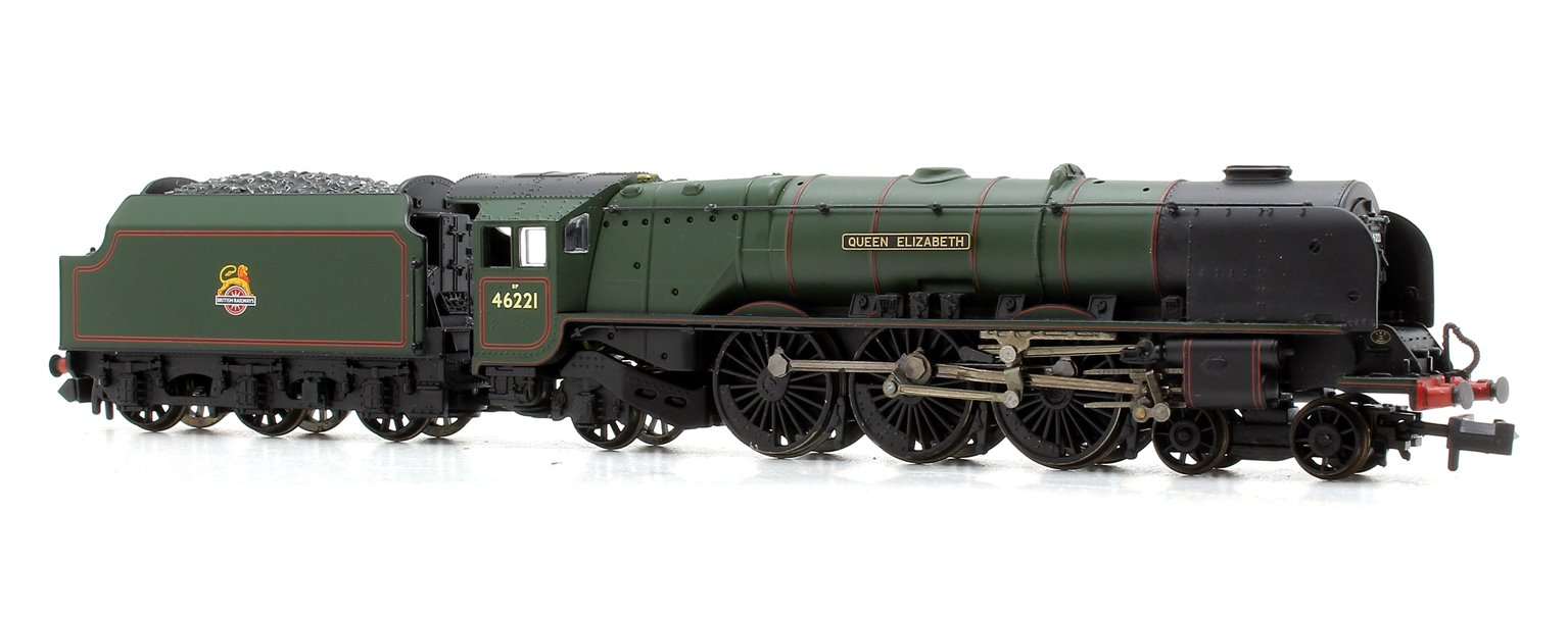 "Princess Coronation Class ""Queen Elizabeth"" BR Green E/E Locomotive 46221"